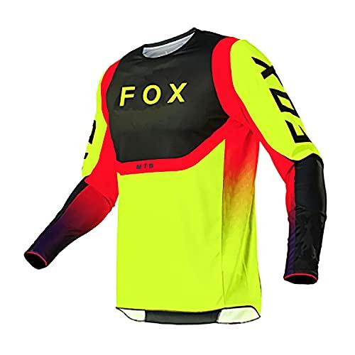 Camiseta sin Mangas de la Camiseta de MTV, Camisetas de Descenso de la Bicicleta de montaña de los Hombres Camisa de MTB Offroad Jersey de la Motocicleta Ropa de Motocross XXL