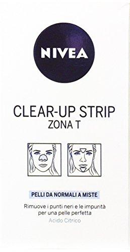 12 x NIVEA VISAGE Strip Viso Donna Clear-Up 6 PZ