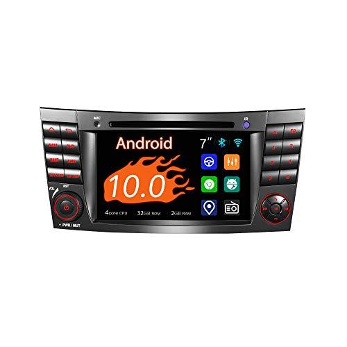 Amaseaudio Android 10 Autoradio, 2 Din für Benz W211, 7
