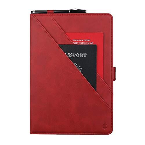 HonGYAOKEJI JDQSK beschermhoes voor Samsung Galaxy Tab A 8.0 (2019) T290-295 (rood), Rood