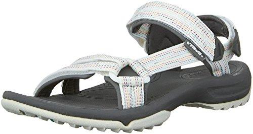 Teva Terra Fi Lite W's Sandales de sport et d'extérieur pour femme - - City Lights blanc multi, 37 EU