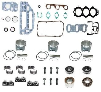 Great Features Of TSM Performance Powerhead Rebuild Kit Johnson & Evinrude 50-70hp, 1986-2001