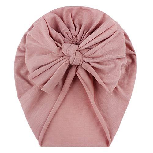 Turban Baby Mädchen Neugeboren Stirnband Haarband Knoten Mütze Sommer Stretch Schleife Headwear Kleinkind Bogen Fliege Haarreifen Head Wrap Hut
