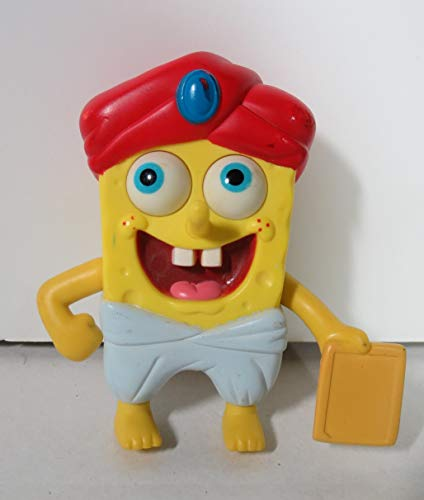Burger King ~ SPONGEBOB SQUAREPANTS (Lost in Time) ~ TIKI SPONGBOB ~ 2009