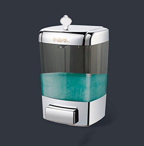 JXXDDQ Cuarto de baño Marco Jabón Gel de Ducha Jabón Líquido baño de la Pared - Montado a Mano - Lavado Botellas de líquido