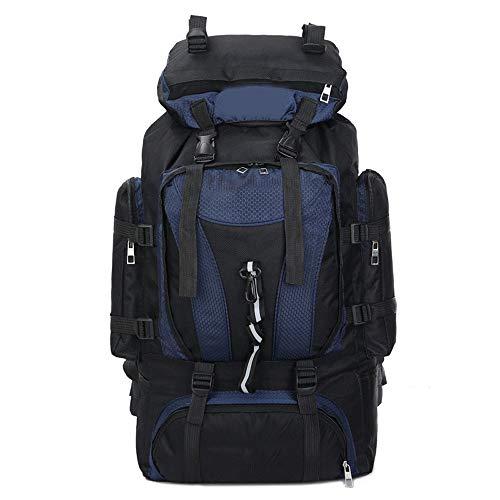 WMKEDA Lightweight , Mochila de senderismo, a prueba de agua 70L mochila de viaje, excursión que acampa al aire libre del morral del recorrido Deportes mochila de nylon, Hombres Mujeres deporte al air
