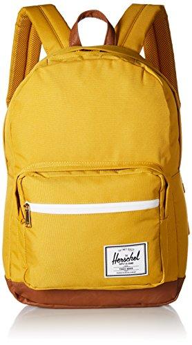 Herschel Unisex-Erwachsene Pop Quiz Multipurpose Backpack, Pfeilholz/braunes Kunstleder, Classic 22L