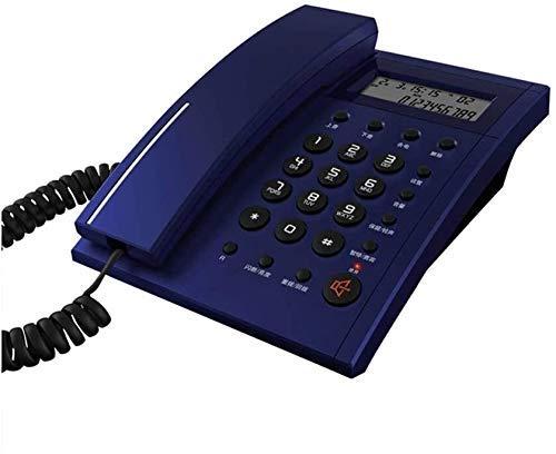 YUBIN Teléfono Teléfono Retro del teléfono para el hogar para la Moda Fija de la línea Fija Cuerda Creativa DISTAL Oficina Hombre Línea Fija (Color: D) (Color : D)