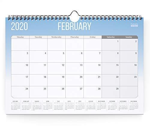 2020 Calendar by Tutors 4 You, Stunning wall calendar 2020, One of the best calendars for 2020, Great as an individual calendar or family calendar 2020.