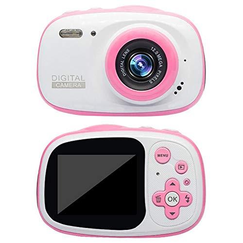TOYSBBS 1080p HD Bambini Fotocamera Digitale Impermeabile Macchina Fotografica per Bambine Bambina Foto/Video Action Cam Impermeabile 30M con Scheda SD da 32 GB,Rosa