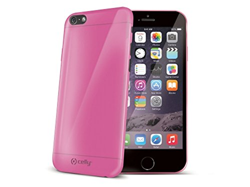 Celly Cover in TPU per iPhone 6, Rosa