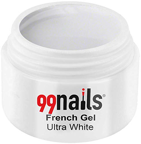 99nails French Gel - Ultra White, 1er Pack (1 x 5 ml)