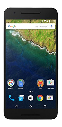 Huawei Nexus 6P 32GB Unlocked GSM 4G LTE Android Phone w/ 12.3MP Camera - Aluminum (Renewed)