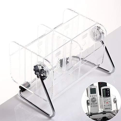 inherited Organizador de Mando a Distancia, Titular de Control Acrílico, Acrílico Transparente Organizadores para Guardar Gafas, teléfonos Inteligentes, Controladores, Llaves USB