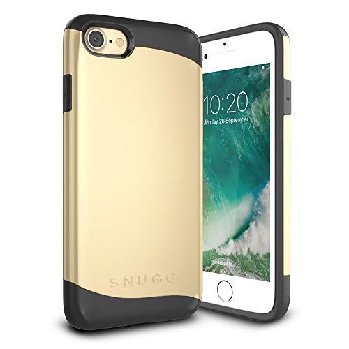 Snugg Cover iPhone 7 Apple iPhone 7 Custodia Case [Scudo Sottile] Protettiva Per Pelle – Oro, Infinity Series
