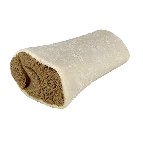 AVANZONA Snack Perros Hueso de Vaca con Relleno de Cordero, Calcio, golosinas, nutritivo y Sabroso, Juguete masticable para Perros, 200G Aproximadamente