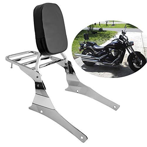 Samger Samger Motorrad Sissy Bar mit Gepäckträger Rückenlehne Kissen