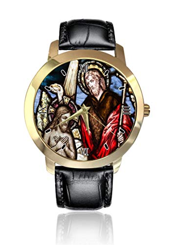 Reloj de Pulsera para Hombre y Mujer con diseño de Iglesia Cristiana,