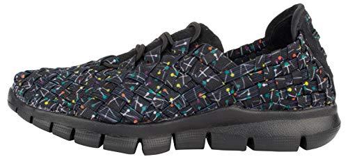 B M Bernie Mev New York Kid's Vicky Sneakers - Vicky Kids es una Deportiva Ultra Ligera, Confort, perfercto para Caminar, con Plantilla de Memory Foam y Suela Ultra Ligero, Lavable (32 EU, Pops)