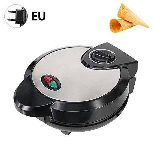 Rubyu Máquina para Hacer Cucurucho de Helado, Waffle Maker Eléctrica Antiadherente de...