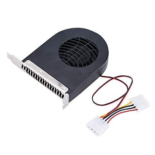Exliy Turbolüfter mit Doppelstecker, CPU-Gehäuseschlitz-Lüfterkühler zum Kühlen von Prozessor und den Speicher, Kühlerlüfter für Computergehäusesystem