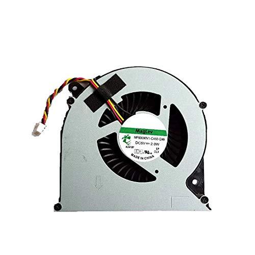Ventilador de refrigeración de CPU para Ordenador portátil para Toshiba Satellite C850 C855 C870 C875 L850 L870 L850D L870D MF60090V1-C450-G99 DC5V 2,0 W Nuevo