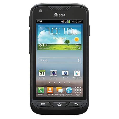 Samsung Galaxy Rugby Pro, Black 8GB (AT&T) (Renewed)