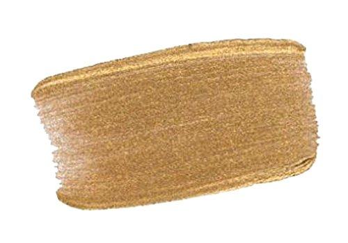 4 Oz Fluid Acrylic Iridescent Color Paints Color: Gold Deep (Fine)