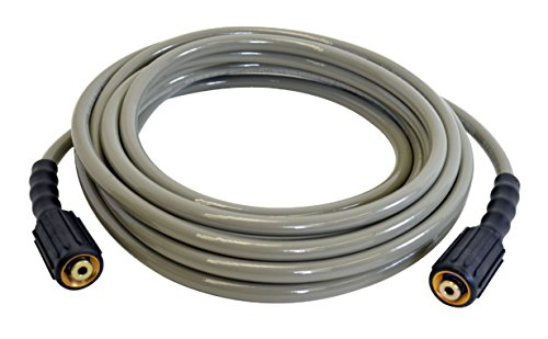 Simpson 40224 3100 PSI Cold Water Replacement/Extension Hose for Gas and Electric Pressure Washers, 1/4-Inch by 25-Feet