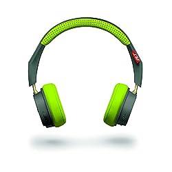 【国内正規品】 PLANTRONICS Bluetooth ワイヤレス ステレオ ヘッドフォン BackBeat 505 グレー Bluetooth V4.1 長時間バッテリー 最大18時間再生 形状記憶型イヤークッション ノイズキャンセリング クリ??