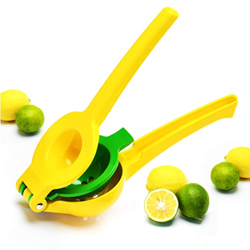 Lemon Squeezer Premium Juicer Lime Squeezer Hand Stainless Steel Press Metal Design for Orange Citrus Fruit Manual Juicers by JellCell