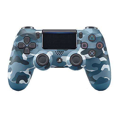 DONGLU Controlador Inalámbrico para Playstation 4,Camouflage Blue