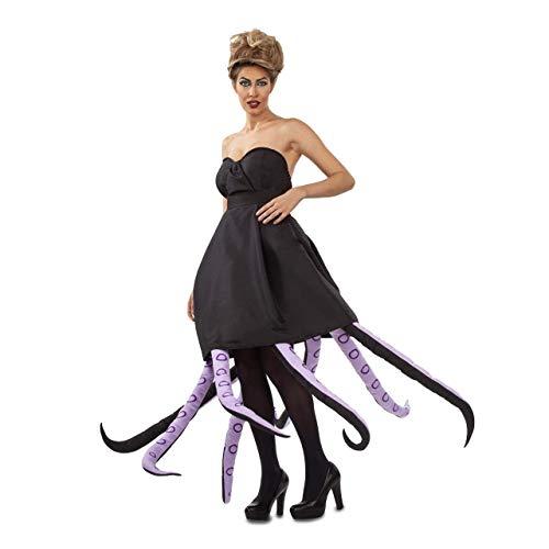 My Other Me Disfraz de Lady Octopus Negro para Mujer: Amazon.es ...