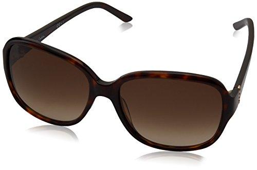 Pierre Cardin P.C. 8398/S CC 086 57 Gafas de sol, Marrón (Dark Havana/Brown Sf), Mujer