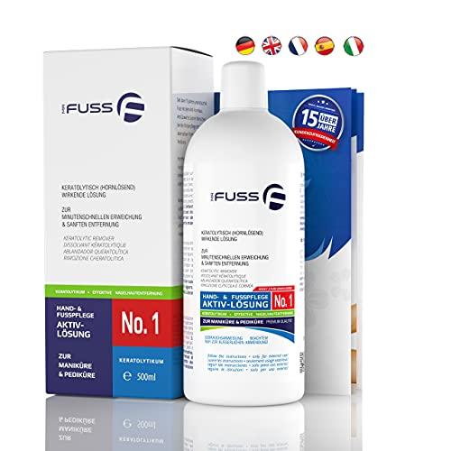 Mr. Fuss Lösung No. 1-500 ml, stark erweichend- Hornhautentferner