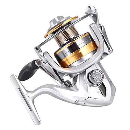 Carrete De Pesca Sal De Agua Dulce De Metal De Agua Dulce De Servicio Liviano De Servicio Liviano De Hilado De Spinning