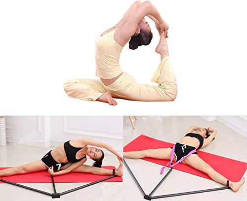 Product Image 5: FIGROL Leg Stretcher Leg Split Stretching Machine Stretching Equipment Flexibility for Ballet, Yoga,Dance, MMA, Taekwondo & Gymnastics(Black)