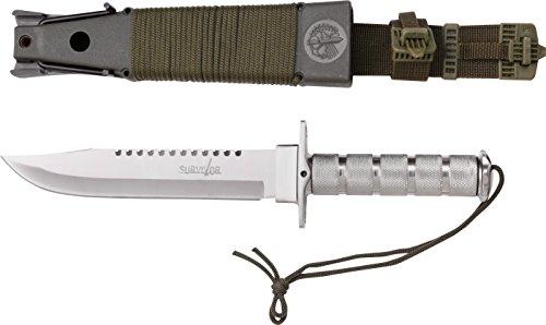 Survivor Adultes Longueur Totale cm : 36,2 Couteau d'extérieur, Multicolore, Taille Unique