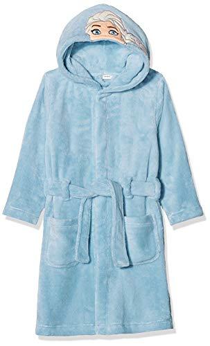 NAME IT Mädchen NMFFROZEN Batty Bathrobe WDI Bademantel, Blau (Cashmere Blue Cashmere Blue), (Herstellergröße: 110)