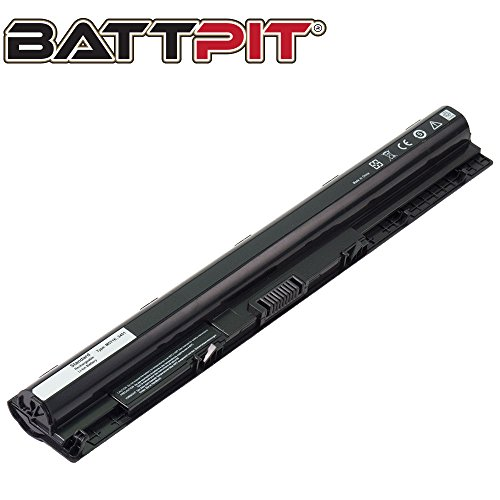 BattPit Laptop Battery for Dell M5Y1K Inspiron 3451 3551 5451 5455 5551 5555 5558 5755 5758 N3451 Vostro 3458 3558 - High Performance [4-Cell/2200mAh/33Wh]
