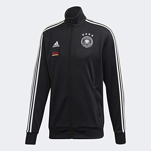 adidas Herren DFB 3S Track Top Trainingsjacke, Black, XL