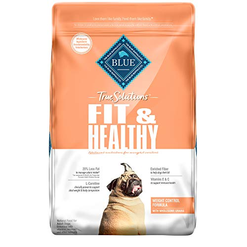 Blue Buffalo True Solutions Fit & Healthy Natural Weight Control Adult Dry Dog Food, Chicken 11-lb