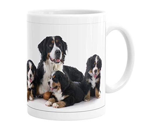 Merchandise for Fans Becher aus Keramik - 330 ml Motiv: Berner Sennenhund (11)