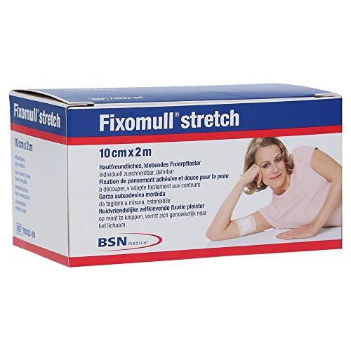 Fixomull stretch 10 cm x 2 m Klebevlies zur vollflächigen Verbandfixierung, 1 St. Pflaster
