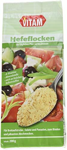 VITAM Hefeflocken salzfrei, 3er Pack (3 x 200 g)