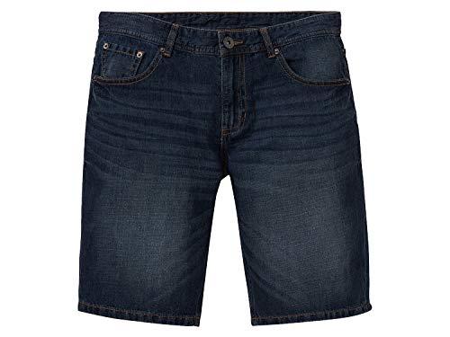 Livergy Herren Sommer Jeans Bermudas Kurze 5 Pocket Hose Shorts Dunkelbalu 52