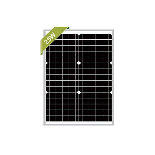 Newpowa Mono-Solarmodul, 25 W, 12 V, Mono-Solarmodul, 20 W, 25 W, 30 W, RV, Boot, Off-Gitter … (25W Mono)