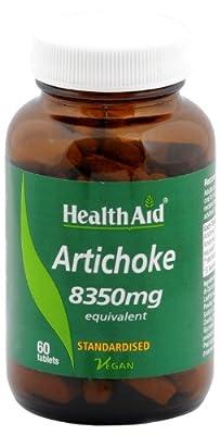 HealthAid Artichoke 8350mg - 60 Vegan Tablets from HealthAid