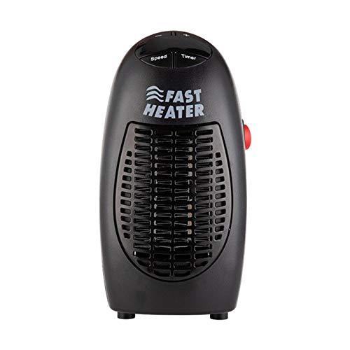 WZCXYX Mini Calentador De Ventilador De 400 W, Calentador Eléctrico Montado En La Pared, Estufa, Calentador De Radiador, Máquina De Ventilador De Calefacción para El Hogar para El Invierno
