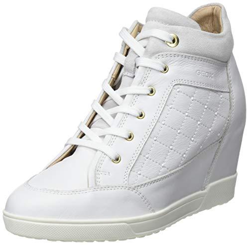 Geox D Carum C, Zapatillas Altas Mujer